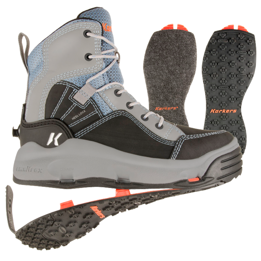 From ultralight wading boots ideal for hiking long distances to heavy-duty, full support models, we offer wading boots for every angler and budget.