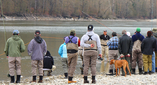 We offer a huge selection of fly fishing courses covering topics such as fly casting, fly tying, entomology and spey casting. Fly fishing classes are taught at both our Surrey and our Vancouver fly shop locations.