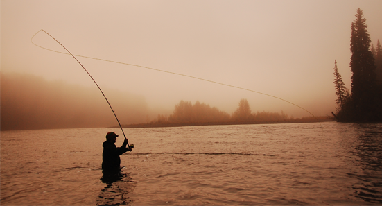 Four of our staff members are expert spey casters, and we can get you into the right spey rod with the right spey line so that you can confidently tackle BC Salmon and Steelhead on the fly.