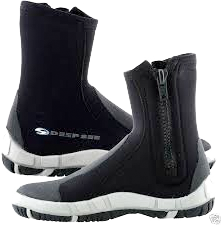 Fishing BC's frigid waters, you'll find the warmest insulated neoprene booties at Michael & Young.