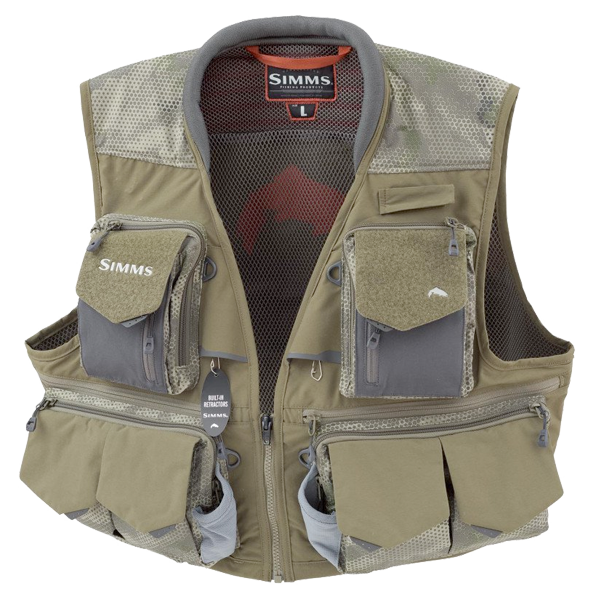 Find the perfect fly-fishing vest crafted with plenty of pockets and compartments so that your fishing essentials are organized and close at hand.