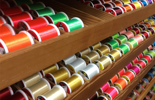 We stock fly tying thread, tinsel, floss and wire in hundreds of varieties and colours from most of the top brands.