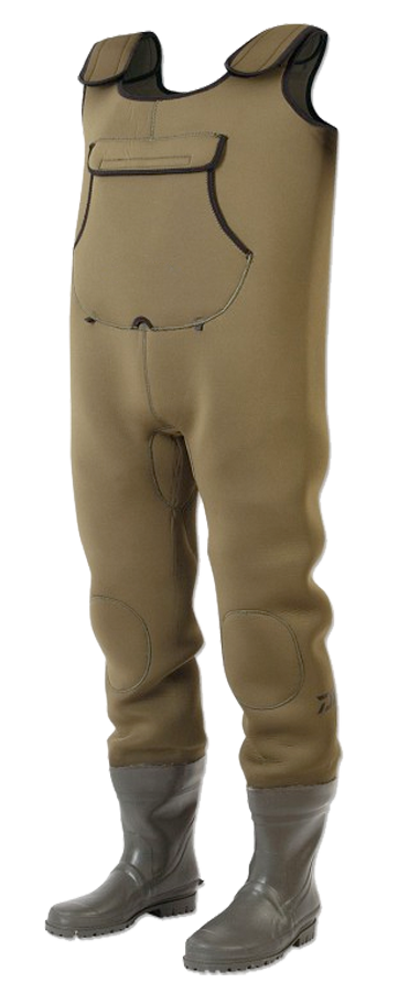 Although not as popular since the price of breathable waders has dropped, neoprene waders are ideal for cold water, as neoprene waders keep you warm and fishing longer without layers of undergarments.