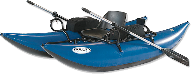 Pontoon boats are light, maneuverability, sturdy and carry a lot of gear for both lakes and rivers.