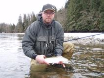 <p>A full day travelling by jet boat, fly fishing the Fraser River, Harrison River, and some of their backwaters on the hunt for Searun Cutthroat trout on the fly.</p>