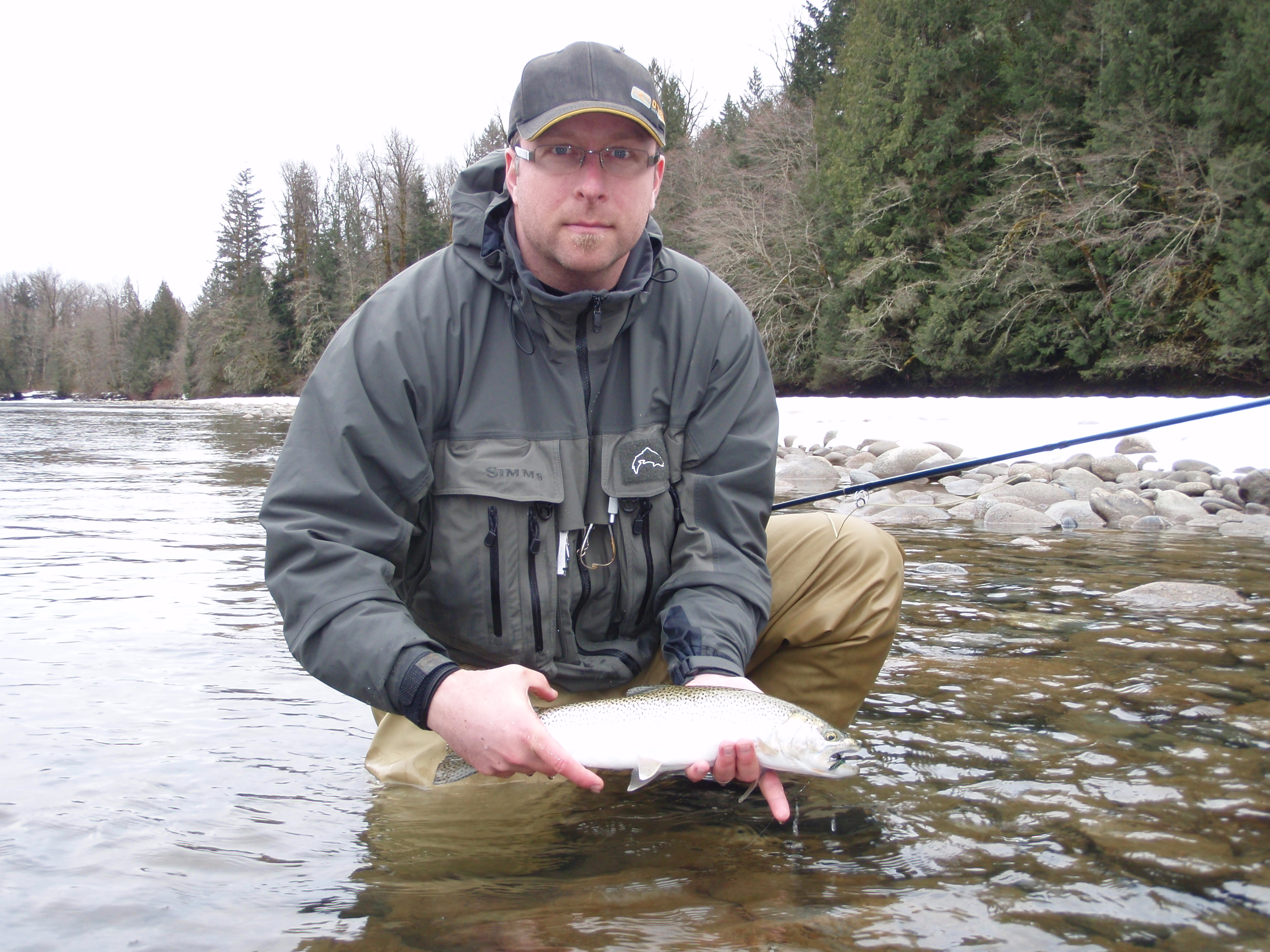 <p>A full day travelling by jet boat, fly fishing the Fraser River, Harrison River, and some of their backwaters on the hunt for Searun Cutthroat trout on the fly.</p>    <P>