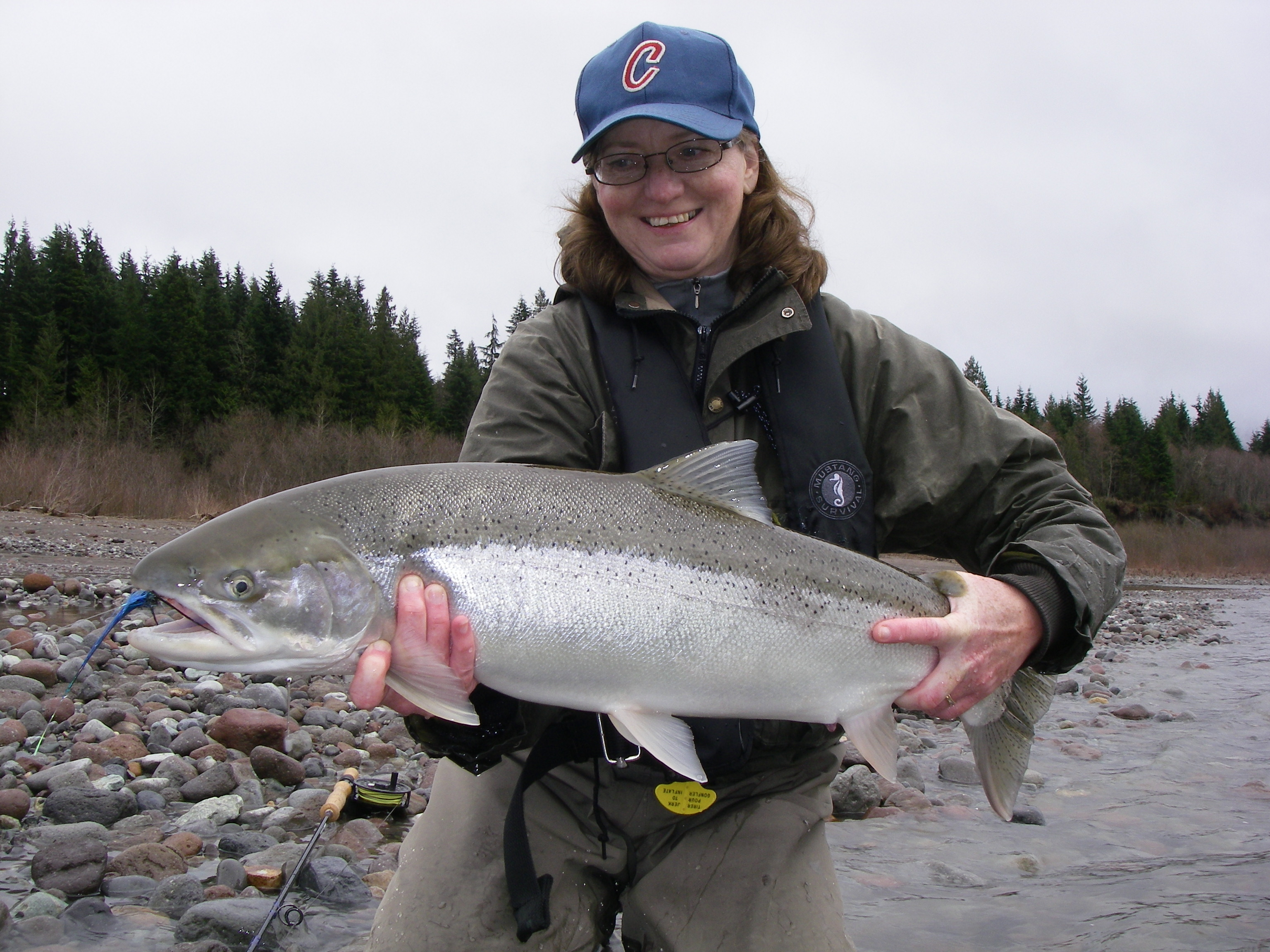 <p>Join Curtis Meyers of BC Fly Fishing Charters on a fly fishing school for winter steelhead. You will travel by jetboat on the Fraser and Harrison rivers on the hunt for mainstem fish. You will discuss the appropriate equipment (flies, lines, tips, rods, and reels) and go over strategy and technique on how to target these extraordinary fish. </p>    <P>