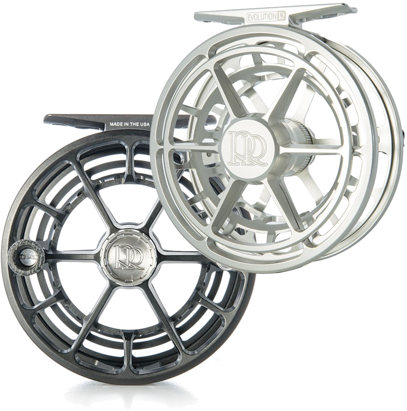 Evolution R Black 7 - 8 Weight Fly Reel