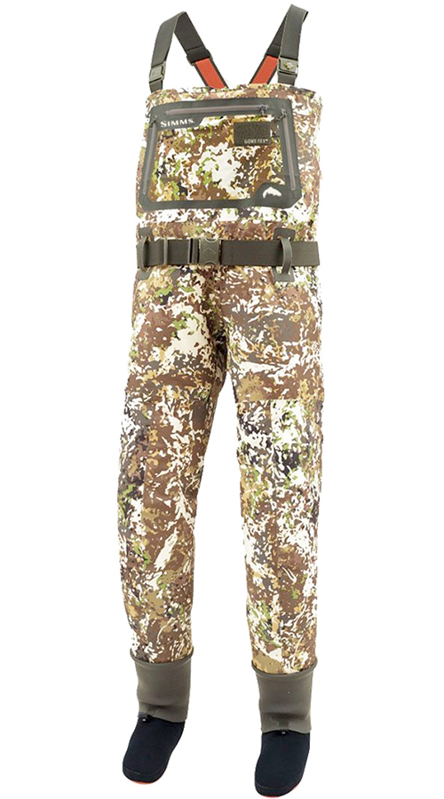 G3 Guide River Camo Waders - Stockingfoot