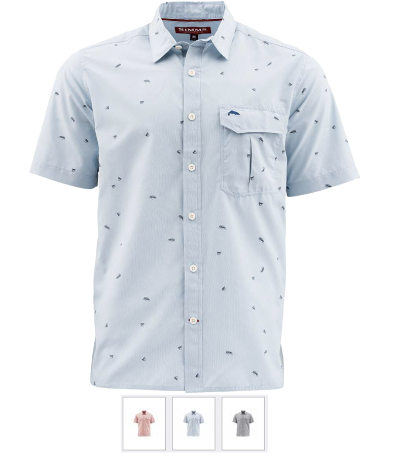 Simms Fishing M.T.H. Short Sleeve Shirt